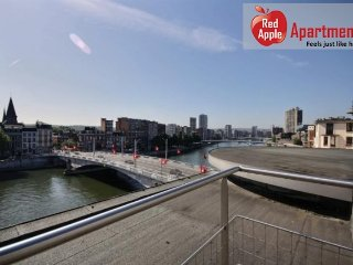 """Penthouse"" Apartment on the Top Floor! - 7252, Liege"