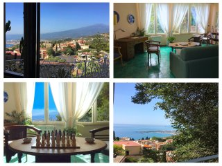 MARGOT'S APARTMENT Etna & Sea view, Taormina