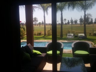 Luxieuse villa vue sur golf au atlas golf resort