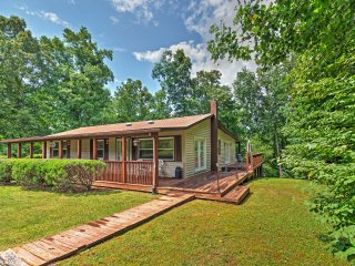 New Listing! Captivating 2BR Crossville Cabin w/Wifi, Private Porch, Gorgeous Forest Views & Easy Access to Golf Courses - Prime Location In Golf Capital of Tennessee!