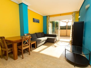 Apartamento con patio privado en Salou