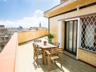 2 Bedrooms Attic with large Terrace, amazing view!