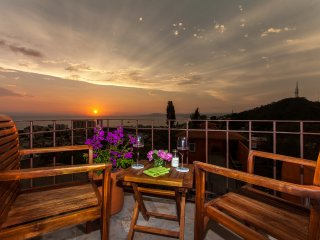 Orange Sunsets, Ocean Views, Privacy, In-Town, Puerto Vallarta