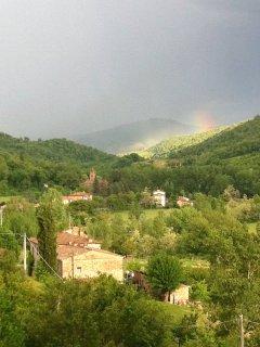 Rainbow over Lucarelli
