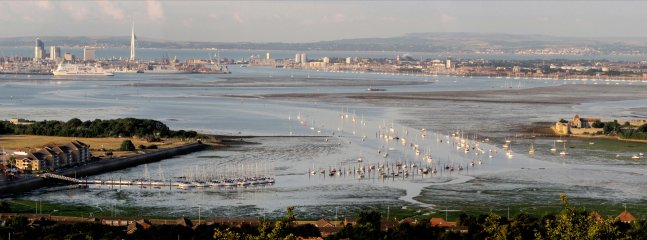 Portsmouth's natural harbour