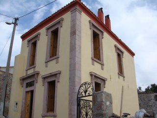 Greek Stone House on the Cunda Island, Ayvalik