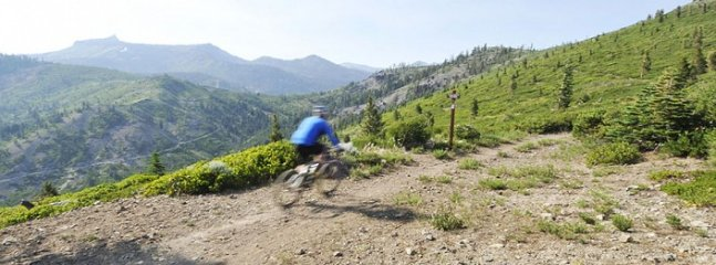 Mountain Biking Hawk's Peak