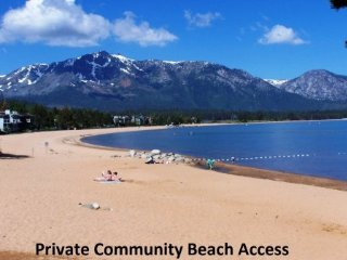 South Lake Tahoe - 4 BR Home, Boat Dock, Pool Table - LTA 8221
