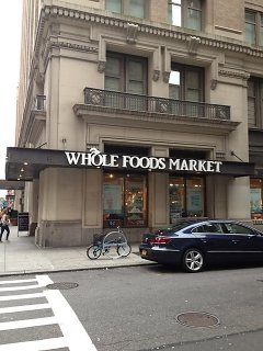 Whole Foods Market located on 7th Ave. and West 24th Street.