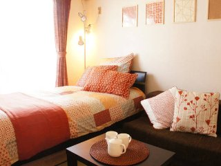 5 mins to Kyoto st.!/ 2ppl/ Good for single & couple trip/ convenient area!