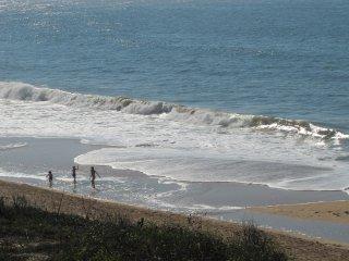 Un duplex au bord de la plage