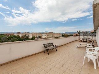 Ático soleado, grandes terrazas, vistas despejadas, Palma de Mallorca