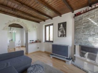 A beautiful white Villa in CASTLE of VEZIO, Varenna