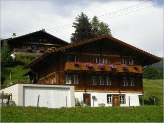 Grindelwald, Ferienwohnung 2-6 Personen Chalet Verbrunnenhaus