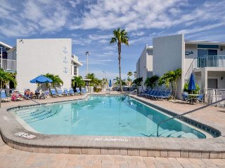 Madeira Beach Yacht Club 261D - Waterfront Condo Newly Refreshed in 2013!