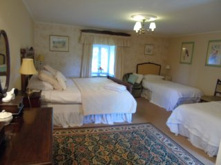 Jasmine, Family room, cot and highchair available, ensuite