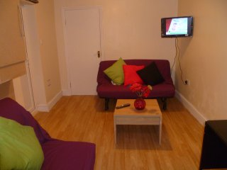 LONDON BIG 1BED FLAT, SLEEPS 2-5.
