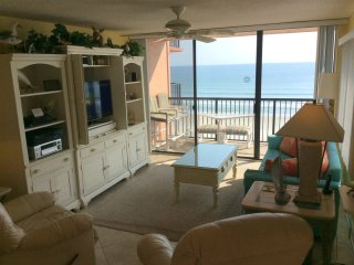 Oceanfront Condo in Non-Driving Part of the Beach, New Smyrna Beach