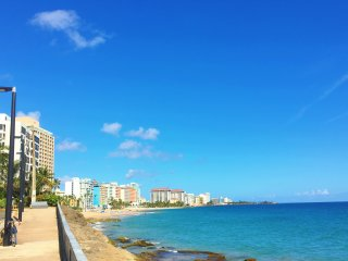 Center Of It All! Across From Condado Beach!