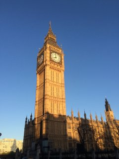 Big Ben and the Houses of Parliament in Westminster are 6 stops on the tube or a 45 minute walk.