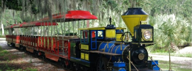 Visit City Park and Ride this Historical train, Amusement ride, museum, Lush garden & eateries