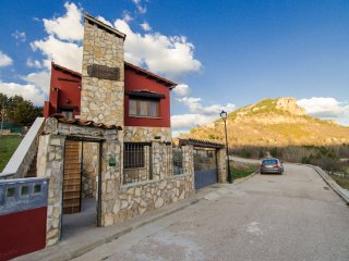 Apartamento Rural con Barbacoa, Chimenea y Patio con Vistas, Cuenca