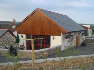 Converted barn on farm in North Devon, sleeps 5