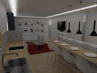 Apartamento recién reformado con todos los lujos, Sarria