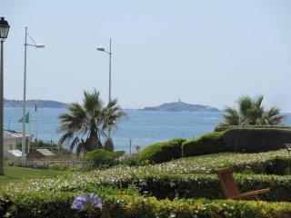 Appt T2 RDJ + Terrasse face a la mer Coudouliere