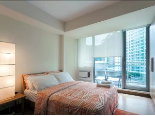 Beach View Condo with wifi in Azure Residences