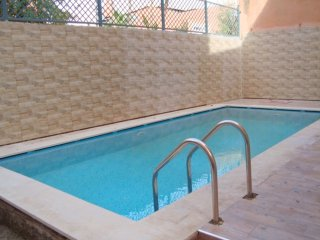 Appartement G2 Gueliz avec piscine, jacuzzi ,Wifi, Marrakesh