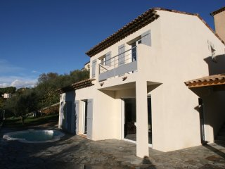 Individual House with pool 14 Km from Nice
