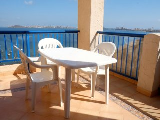FANTASTIC PENTHOUSE FIRST LINE OF MAR MENOR SEA, Playa Paraiso