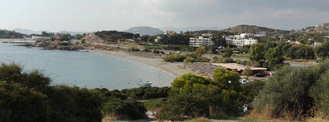 Pefco beach, 10min walk from the house.