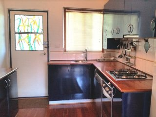 Fully equipped kitchen in the Library Loft Maylands Perth