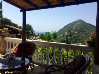 View from the Emerald Villa terrace
