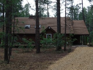 Woodsy large cabin in the tall pines, Pinetop-Lakeside