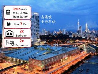 Next to KL Sentral Train Station, 1-7pax, #3, Kuala Lumpur