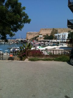 Kyrenia Harbour view