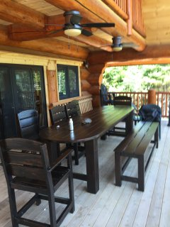 1 foot outdoor table with built in coolers