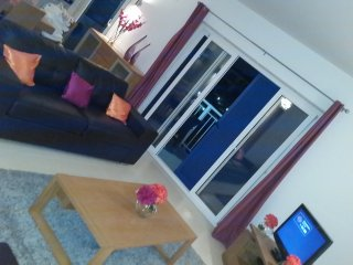 Bright Spacious Apartment Sal Cape Verde up to 6, Santa María