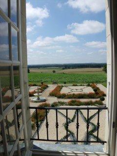Vue Panoramique à partir de la fenêtre des chambres.