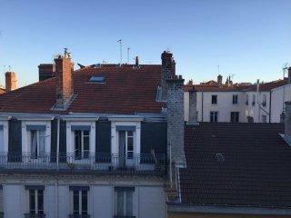 Les toits de la presqu'île, Lyon
