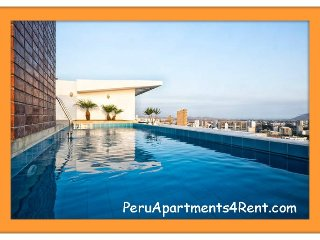 2 Bed, Condo club house close 6 block Larcomar, Lima