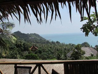 Two-Bed Bungalow with ocean view near beach beach, Ko Phangan