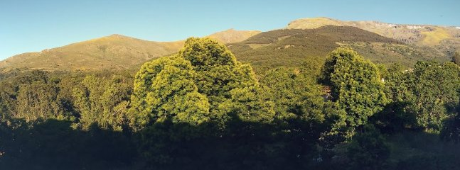 La Sierra desde la habitación verde