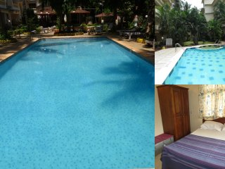 39) 1 Bed Apart Central Calangute Sleeps 2/4