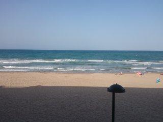 Apartamento primera línea de playa, El Perello