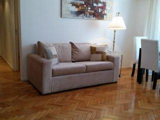 Departamento Arenales en Recoleta, 1 dormitorio y cocina independiente, WIFI, TV