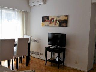 Departamento Arenales, 47 m2 , 1 dormitorio y cocina independiente, WIFI, 2 TV